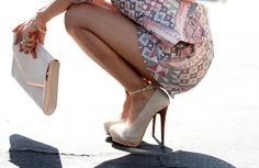 Pumps with a strap! so cute!