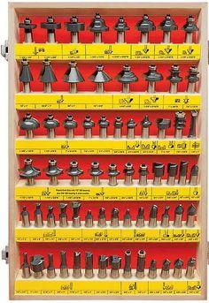 MLCS Woodworking 66 Piece Router Bit Set