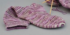 This is one of my basic sock knitting patterns, it has a heel flap and turned heel, gusset and a round toe. Very comfortable to wear. I f...