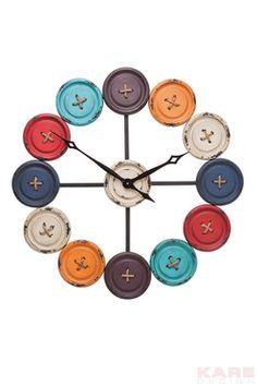 Wall+Clock+Buttons