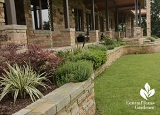 front porch landscaping with raised beds | For Gardeners, By Gardeners: TCMG…