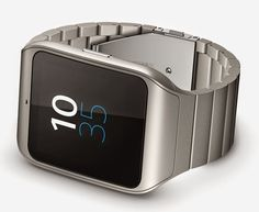 Stainless Steel Sony SmartWatch 3 In Action