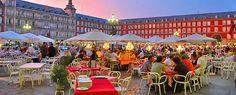 Terraza de verano en Plaza Mayor