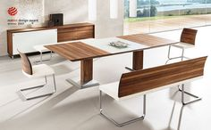 5 Original Ideas to Try In a Contemporary Dining Room / Dining room design/ Contemporary dining room / #diningroomdecor #diningroomideas See more: http://diningroomideas.eu/5-original-ideas-to-try-in-a-contemporary-dining-room/