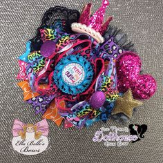 """Pretty Like My Aunt"" Bow Just Sayin' An Auction Style Event Opens 3/3/15 at 5 PM CST Closes at 3/5/15 at 9 PM CST Purchase Here: www.facebook.com/dollhousedesigngroup"