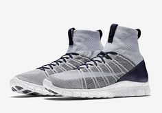 Take a look at the navy blue and grey rendition of the new Nike Free Mercurial Superfly shoe | REHAB Online Magazine