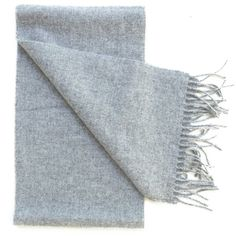 Grey Scottish Wool Scarf by Johnston's of Elgin (€62) ❤ liked on Polyvore featuring accessories, scarves, woven scarves, gray scarves, elgin, woolen scarves and gray shawl
