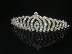 Wedding Crown Bridal Tiara Rhinestone Crystal Crown C13 ** See this great product.(This is an Amazon affiliate link and I receive a commission for the sales)