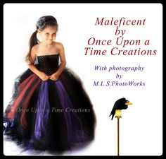 Full Length Scary Witch Tutu Dress Long Halloween Costume Little Girls Size 6 12 18 Months 6 7 8 10 12 Black Purple Red