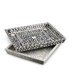 #pattern #blackandwhite #tray #chic #detail