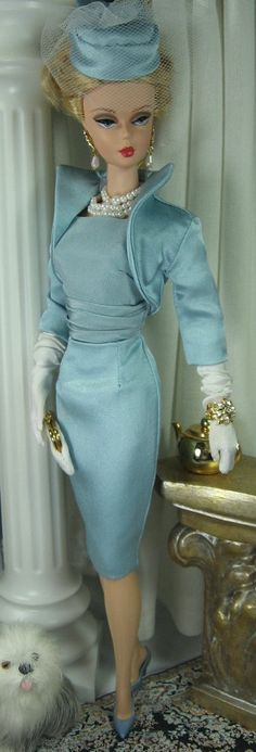 Blue Pearl for Silkstone Barbie and similar by MatisseFashions, $75.00