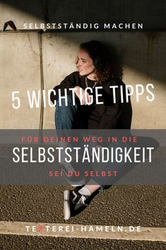 Sei du selbst auf deinem Weg in die Selbstständigkeit - 5 Tipps. Movies, Movie Posters, Do Your Thing, Working Moms, Earn Money, Ad Home, Tips, Films, Film Poster