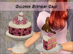 Mod The Sims - Children Birthday Cake