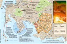 Panama City Map - Panama City Panama • mappery
