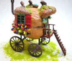 Kilmouski & Me: Walnut Shell Gypsy Caravan