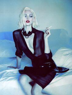 Sasha Pivovarova for Vogue Paris October 2011