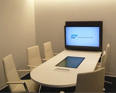 AGATI Furniture - Elements Media Center Collaboration station