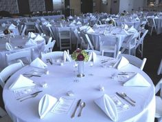 White on White Wedding Table Ideas from Garcia's Kitchen - Event And Wedding catering