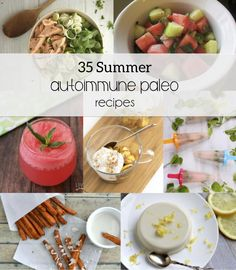 Instead of focusing on what you can't eat, focus on what you can! These 35 summer autoimmune paleo recipes are a great resource. Primal Recipes, Whole Food Recipes, Cooking Recipes, Healthy Recipes, Savoury Recipes, Healthy Dishes, Meal Recipes, Free Recipes, Paleo On The Go