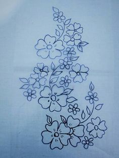 Hungarian Embroidery, Learn Embroidery, Hand Embroidery Stitches, Embroidery Techniques, Embroidery Kits, Ribbon Embroidery, Floral Embroidery, Wreath Drawing, Flower Art Drawing