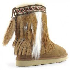 d3728d40b1667 Mou Cowboy Antelope Navajo Belt Boots Women Chestnut  Womensfashion  Winter  Bottes Pour Femmes