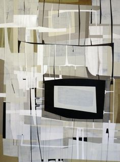 James Kennedy Tellypathic Abstract Painting