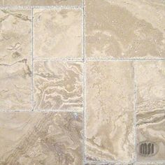 Onyx, Versailles pattern, natural stone Tuscany Walnut Travertine Tile - Save on our natural stone and porcelain tiles. Travertine Countertops, Quartz Kitchen Countertops, Travertine Tile, Tiling, Craftsman Tile, Versailles Pattern, Outdoor Tiles, Shades Of Beige, Countertop Materials