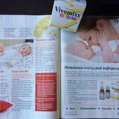 """Czerwcowy numer """"Dziecka"""" już w sprzedaży! A w nim artykuł o kolce niemowlęcej. Przynieś ulgę w walce z kolką swojemu Maluszkowi z Vivomixx w kroplach. #pharmabest #zdrowejelita #mikrobiota #kolkaniemowlęca #kolka #niemowlę #vivomixx #najlepszyprobiotyk #ulga #dziecko"""