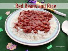 DIY Food & Recipe For Party : New Orleans classic Red Beans and Rice recipe with three different cooking metho