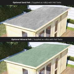 BillyOh Tianna Log Cabin Summerhouse with Side Store - Log Cabins - BillyOh Store Shed Makeover, Backyard Makeover, Modern Windows, Modern Door, Garden Buildings Direct, Summer House Interiors, Garden Cabins, Roof Styles, Log Cabins