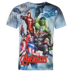 Mens Marvel Avengers T Shirt
