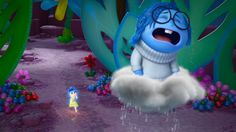 Phyllis Smith from Inside Out describes where her love of Disney first began. Disney Inside Out, Movie Inside Out, Sad Movies, Pixar Movies, Family Movies, Iconic Movies, Sadness Inside Out, Joy And Sadness, Inside Out Characters