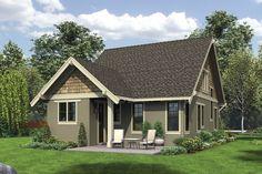 Bungalow Style House Plan - 3 Beds 2.5 Baths 1777 Sq/Ft Plan #48-646 - Dreamhomesource.com