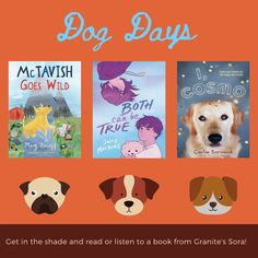 Library Posters, Sora, Dog Days, Graphics, Comics, Reading, Books, Collection, Libros