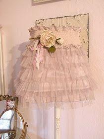 Chateau De Fleurs: Fashion Lampshade Cover