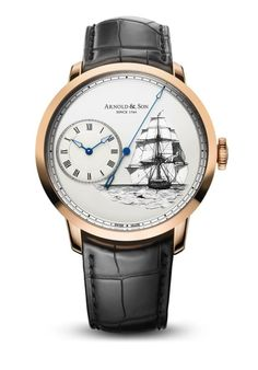 Arnold & Son Releases Limited Edition Set Celebrating the Voyages of the HMS Beagle