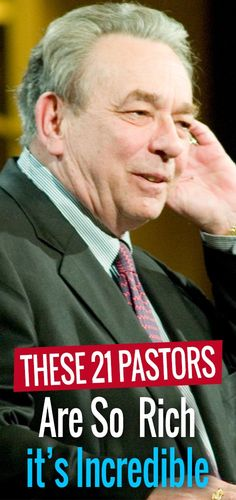 We've rounded up the 20 wealthiest pastors in the world. These religious figures from every corner of the globe are filthy rich, and their net worths are sure to make your jaw drop. Richest Pastors, Filthy Rich, Believe, The Incredibles, World, Movie Posters, Film Poster, The World, Billboard