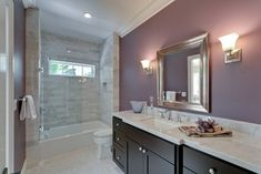 Examine this necessary pic and look into the provided important info on Lavender Bathroom Decor Upstairs Bathrooms, Laundry In Bathroom, Small Bathroom, Master Bathroom, Dyi Bathroom, Bathroom Furniture, Lavender Bathroom, Purple Bathrooms, Bathroom Colors