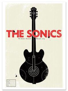 The Sonics / Glasgow by Gavin Beattie