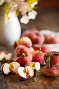 Saturn Peaches - Laura Adani