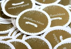 goldlunchbox business cards