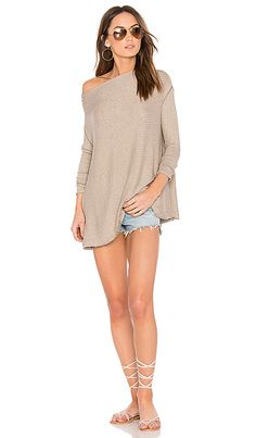 Shop for Free People Lover Rib Thermal Top in Taupe at REVOLVE. Free 2-3 day shipping and returns, 30 day price match guarantee.