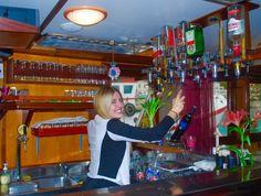Karla at the Bar