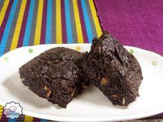 Sem Restrições: Brownie de Alfarroba Sem Glúten Sem Lactose