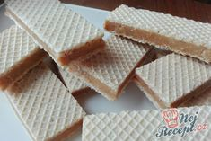 Czech Desserts, Pancakes And Waffles, Christmas Candy, Biscuits, Deserts, Food And Drink, Bread, Baking, Recipes