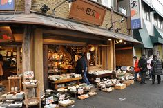The World's Largest Cookware Market - Kappabashi-Dori in Tokyo