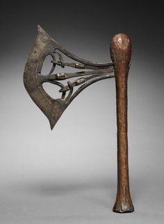 Ceremonial Axe, before 1916 Africa, Democratic Republic of the Congo, Songye… Beil, Art Premier, Cleveland Museum Of Art, Swords And Daggers, Fantasy Weapons, Wooden Art, African Art, Sculptures, Medieval