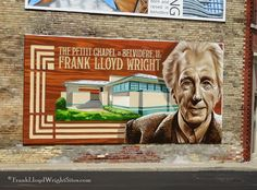 Wright mural in downtown Belvedere