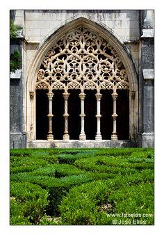 Royal Cloister Batalha Monastery http://en.wikipedia.org/wiki/Batalha_Monastery