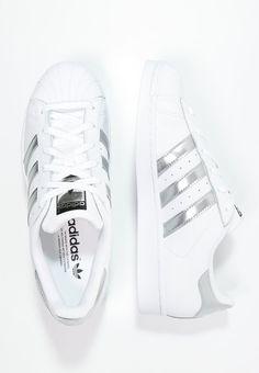 adidas Originals SUPERSTAR - Tenisówki i Trampki - white/silver metallic/core black za 349 zł (31.01.16) zamów bezpłatnie na Zalando.pl.